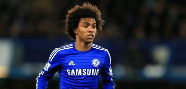 Willian foi peça importante no título da Barclays Premier League conquistado pelos Blues