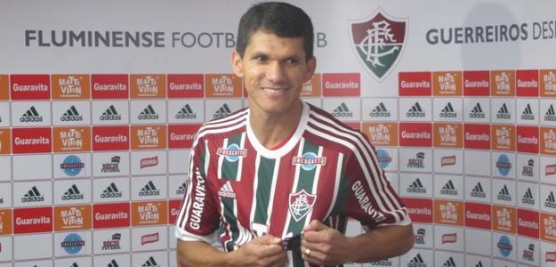 Magno Alves foi apresentado como ídolo no Fluminense