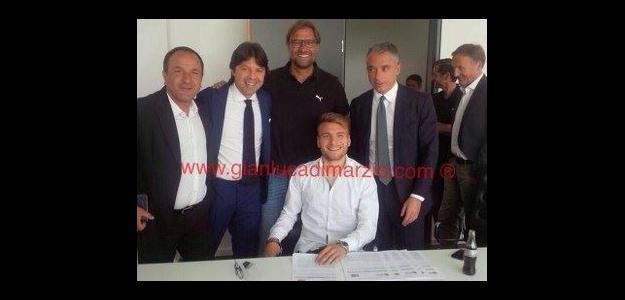 Immobile agora atuará no Borussia