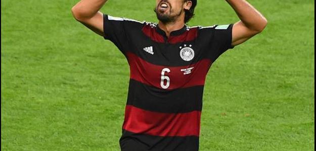 Khedira foi campeão da Copa do Mundo de 2014 com a Alemanha