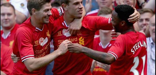 Henderson e Sterling são dois dos principais jogadores dos Reds no elenco atual