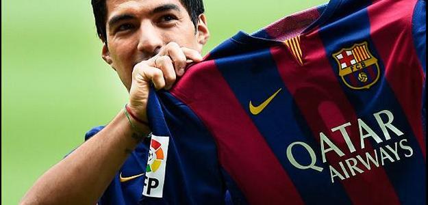 Atacante Luis Suárez destacou estrutura do Barcelona para a base