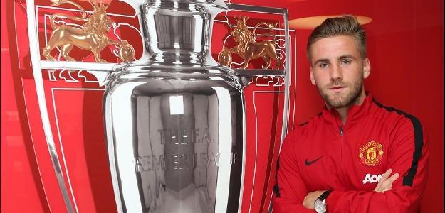 Luke Shaw agora atuará pelo Manchester United
