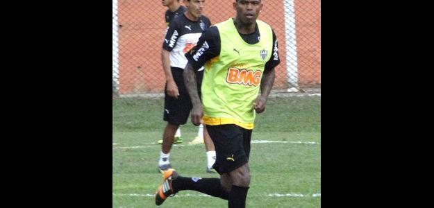 Maicossuel faz seu primeiro treino com a camisa do Atlético-MG