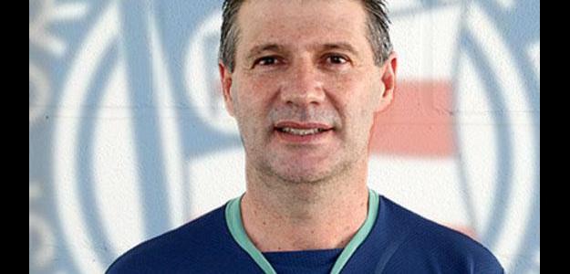 O técnico comandou a equipe no acesso de 2010