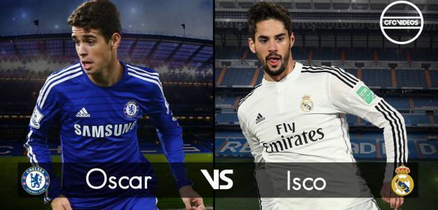 Oscar e Isco são prioridades para a Juventus