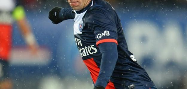 O lateral recebeu elogios do presidente do clube francês