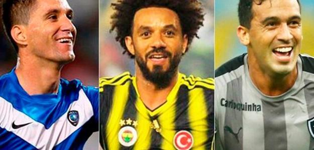 Thiago, Cristian e Edílson estão na mira do Fla