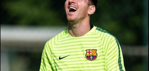 O atacante argentino afirmou ter vontade de permanecer na equipe catalã