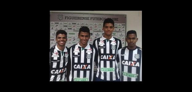 Matheus Gonzaga, Rodrigo José, Felipe Caldeira e Magno Júnior já estão em SC