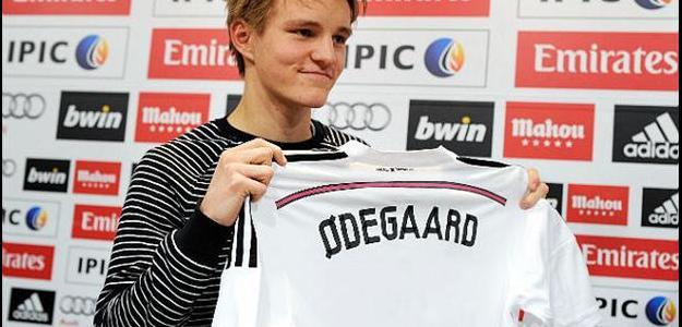 O jovem norueguês acertou com o Real Madrid no início deste ano