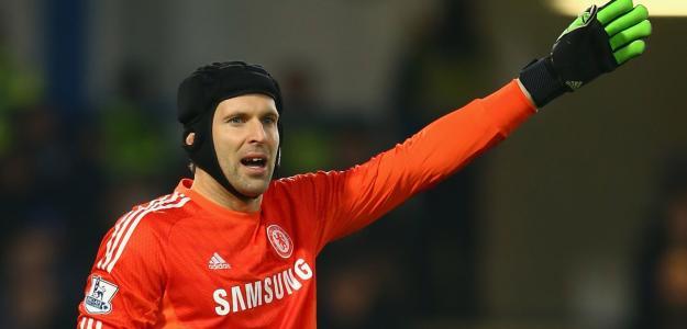 Petr Cech passou a temporada como reserva de Thibaut Courtois