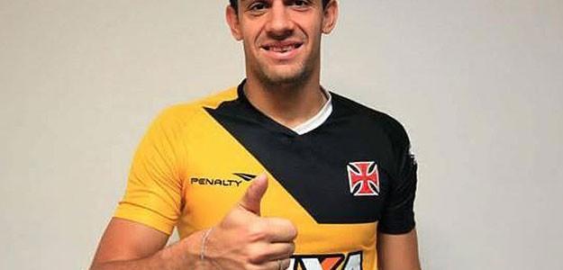 Rafael Copetti, novo reforço do Vasco, já está em Pinheiral