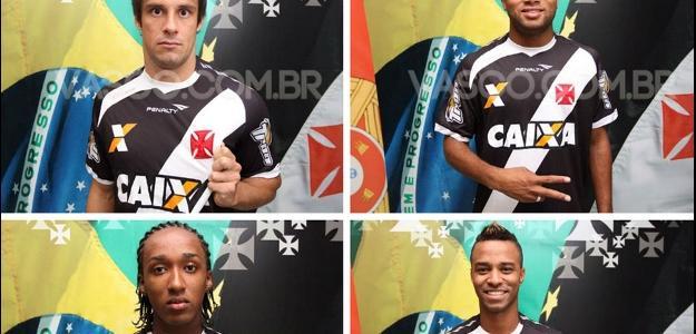 Vasco anuncia reforços para a Série B