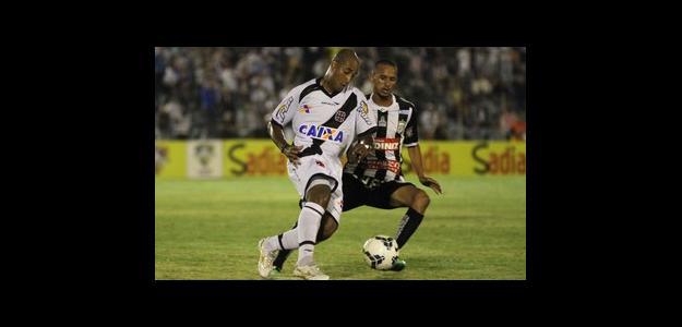 Reginaldo fez contra o Treze, em abril, sua última partida pelo Vasco