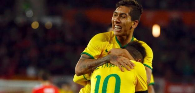 Firmino marcou o gol da vitória do Brasil sobre o Chile