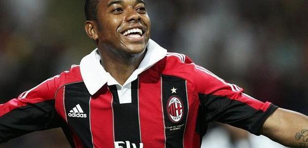 Robinho estava no Milan