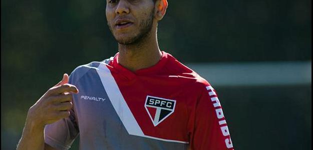 Souza chegou por empréstimo ao São Paulo no começo do ano