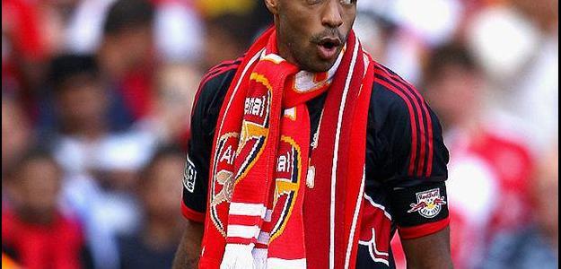 Atacante francês Thierry Henry está perto de dar adeus ao New York Red Bulls