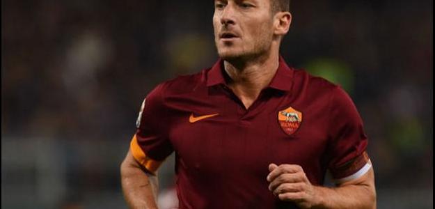 Totti é uma lenda para todos os torcedores da Roma