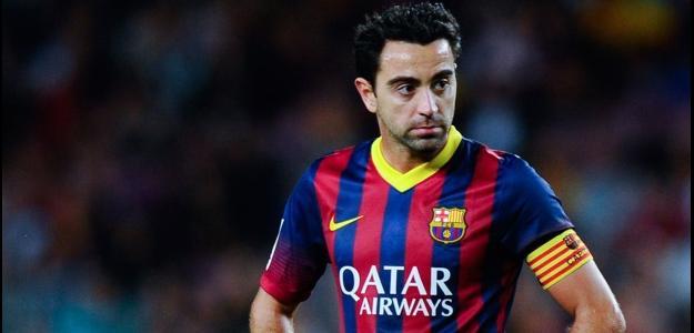 Xavi tem 35 anos e jogou toda sua vida pelo Barcelona