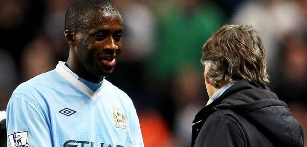 Roberto Mancini afirmou que Yaya Touré gostaria de jogar novamente com ele